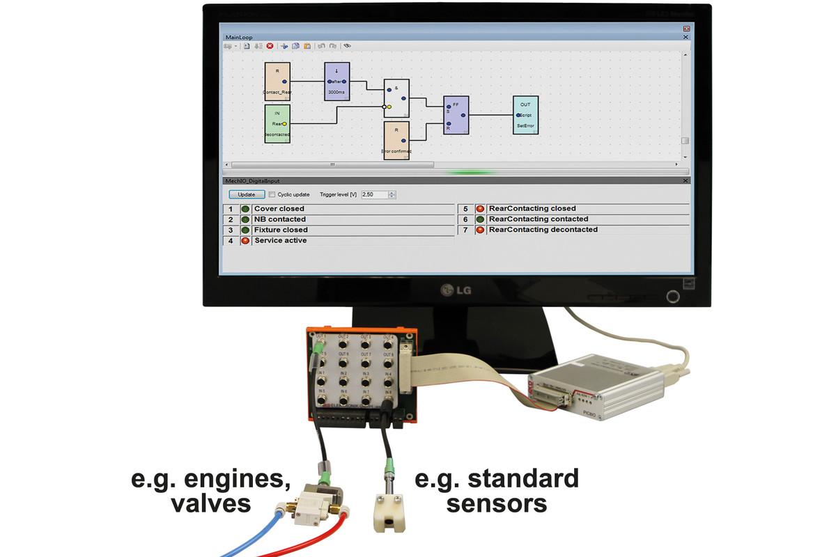MCD Elektronik GmbH - Sensor Actuator Box