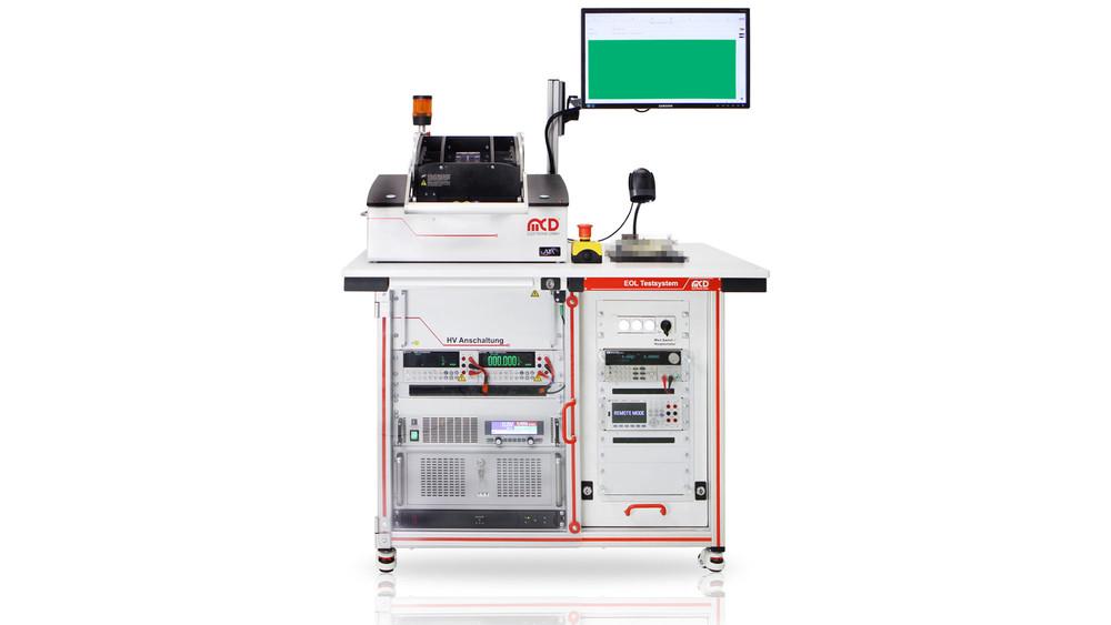 MCD Elektronik GmbH - EOLT - End-of-Line Test System